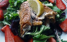 Smoked Mackerel and Strawberry Salad