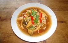Super Quick Noodle Soup