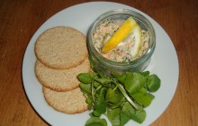 Smoked Salmon and Watercress Pate